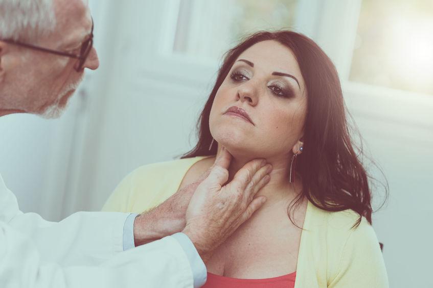 endokrynolog badanie szyi