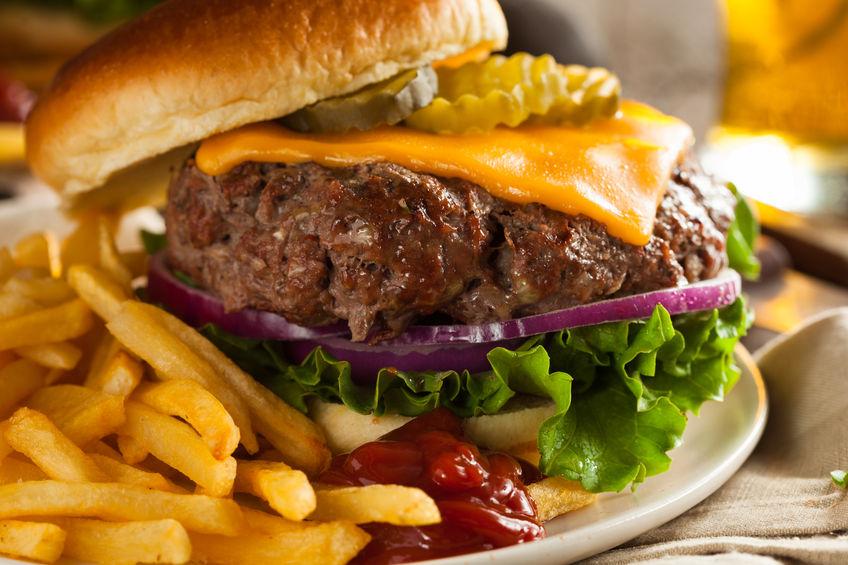 холестерол гамбургер