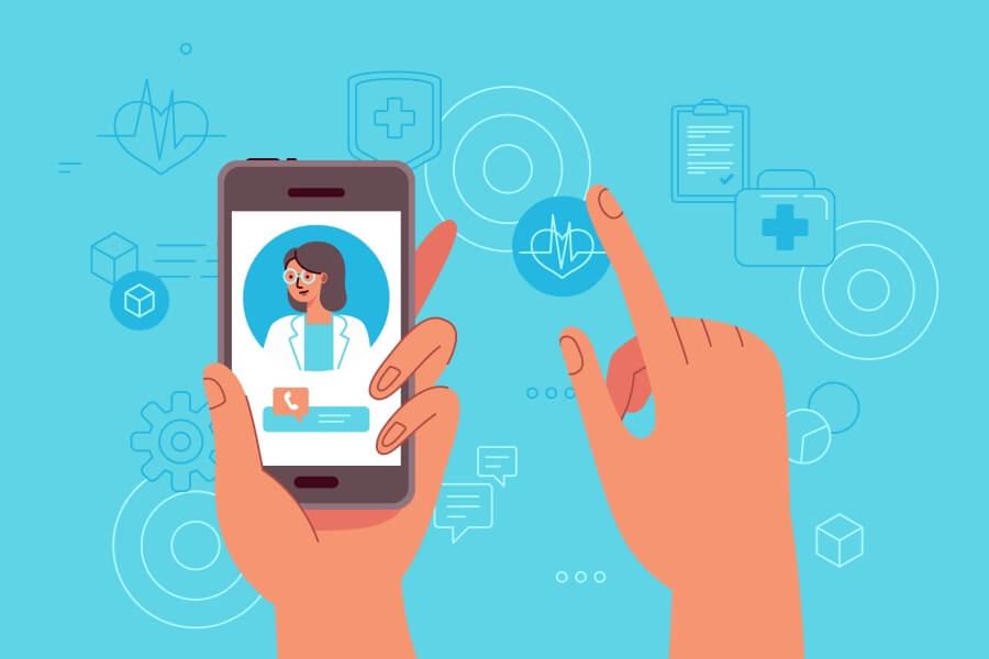 Telewizyta lekarska – szybka konsultacja z lekarzem on-line